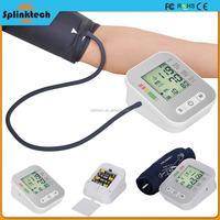 Upper Arm LCD Digital Blood Pressure Monitor Pulse 0.01 W Power Consumption