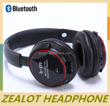 HiFi wired wireless Headphone with wireless net chat monitor FM wried 5 in 1 Function