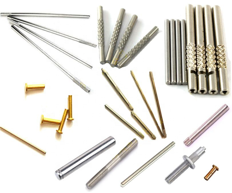Electronic stainless steel shafts needle brass axle pin sleeves machined authomatic swiss lathe custom cnc lathe <strong>machine</strong> <strong>parts</strong>
