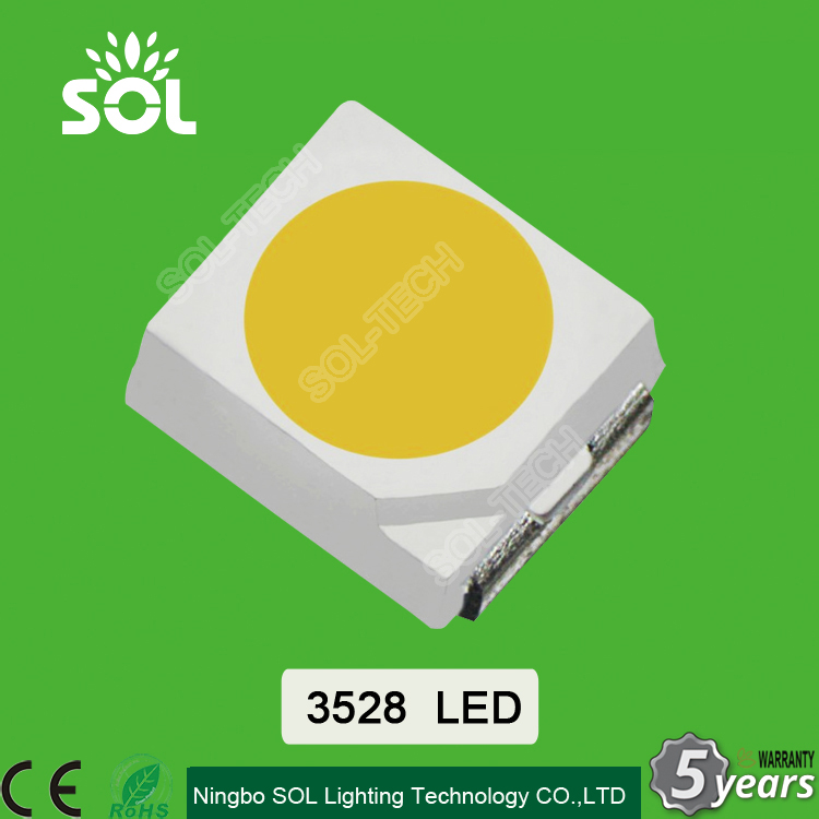 3V 20mA 0.06W white 7-9lm Epistar Chip 3528 SMD LED