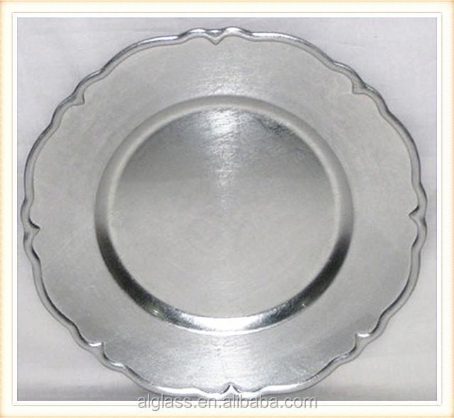 silver charger plates silver charger plates suppliers and at alibabacom