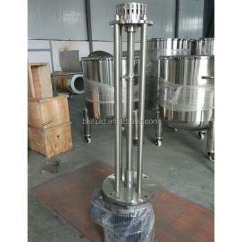 Hot Sale High Shear Mixer for mixing liquid and gelatin powder