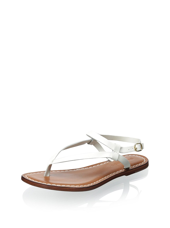 acb4c29c4aeb Get Quotations · Bernardo Merit White Vachetta White Calf Women s Sandals