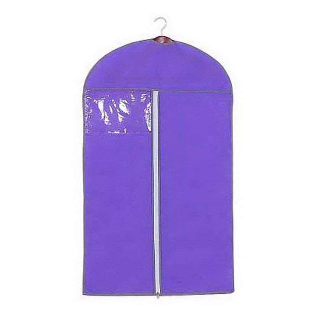 URIJK Non-woven Garment Bag - Dust Bags Cover Moth Proof for Clothes - Full Zippered Breathable Dust Cover for Dance Dress Clothes