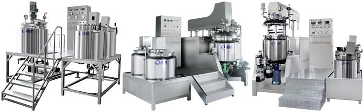 ZT-D-500L elevador hidráulico tipo de aquecimento Elétrico de aço Inoxidável vácuo inferior homogênea emulsionante mixer/creme que faz a máquina