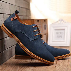 z10065a real picture plus size fashion shoes men genuine leather mens casual shoes