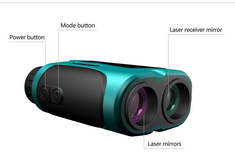 Fernglas mit laser entfernungsmesser golf mini laser