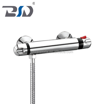 European standand wall mounted shower faucet brass Thermostatic Shower Mixer