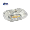 rectangle aluminium foil food tray box food container with lid bulk production