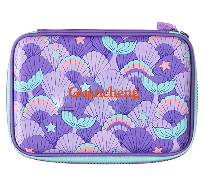 GC-Stationery <strong>eva</strong> bag for Girls (Hard Top) Magical 3D Creature, <strong>Bright</strong> Colored Storage Box