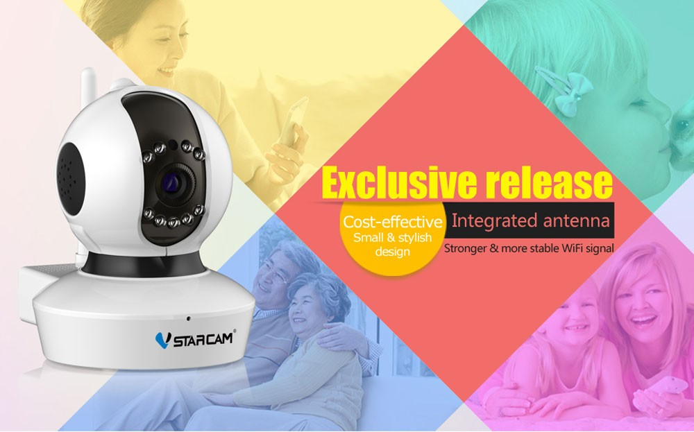 VStarcam C7823 home assistant p2p wifi camera, View home assistant p2p wifi  camera, VStarcam Product Details from Shenzhen Vstarcam Technology Co ,