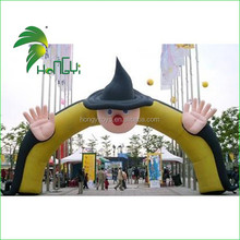 Outdoor Customized Special Shape Inflatable Halloween Arch for Holiday Sale