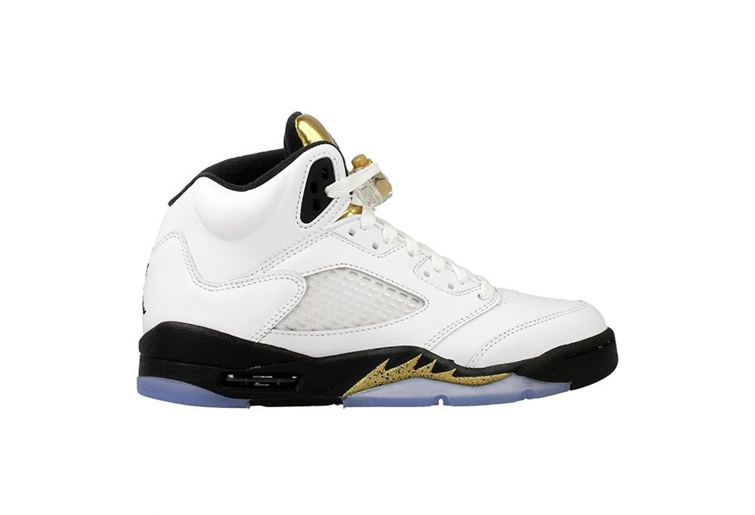 dca9bff11a5 Get Quotations · Nike Air Jordan 5 Retro BG LTD Olympic Gold Coin 2016  Basketball Sneaker
