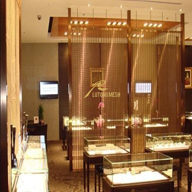 Anping Metal Wire Mesh,Interior Decorative Metal Wall Panel
