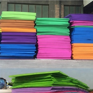 slipper foam of colorful rubber sheets for slippers eva foam sheet