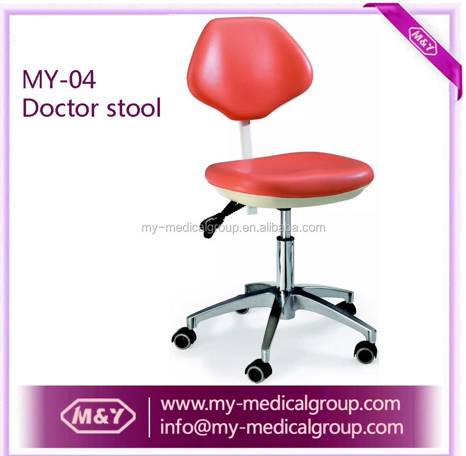 Hospital Furniture Manufacturer Stainless Steel Doctor Stool Chair/dental stool