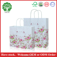 promotional gift bags Custom Order and Recyclable Feature Custom Gift Bags Wholesale/garment Packaging Bags