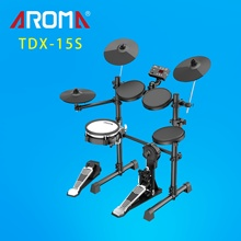 TDX-15S Hoge Kwaliteit Digitale Drum Set Koele Professionele <span class=keywords><strong>Elektronische</strong></span> Aroma Drum Kit