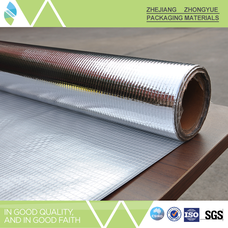China gold supplier metalized pet film laminated with for 6 fiberglass insulation r value