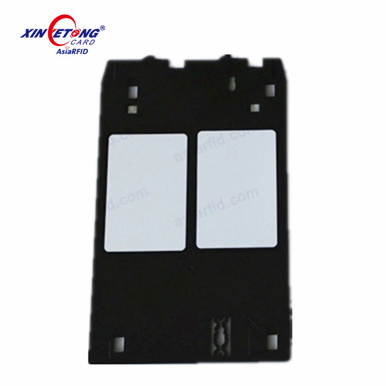 Inkjet Pvc Blank Plain White Card Tray For Epson L1800/l800/l805/t60 - Buy  Pvc Card Tray For Epson L800 Printer,Pvc Id Card Tray For Epson,Pvc Card
