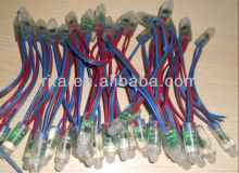 DC12V input 12mm WS2811 pixel node,100pcs a string,IP68 rated