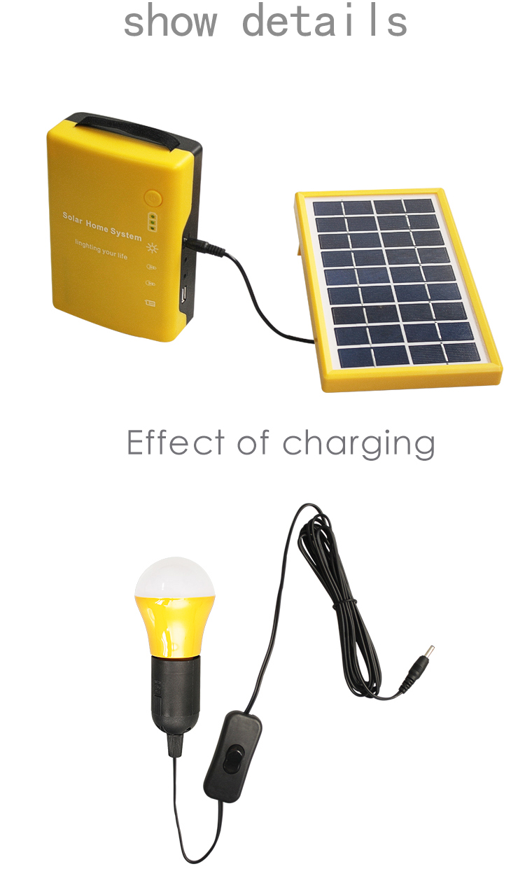 Wholesale 12v 3w Led Mini Solar Kits Small Solar Generator Portable ...
