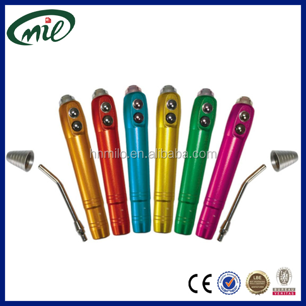CE Approved comfortable button plastic steel syringes