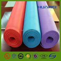 China manufactures eco friendly printed yoga mat used in gymnastic