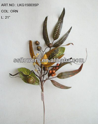 New Style Artificial Flower 21 inch Artificial Autumn Berries Pick