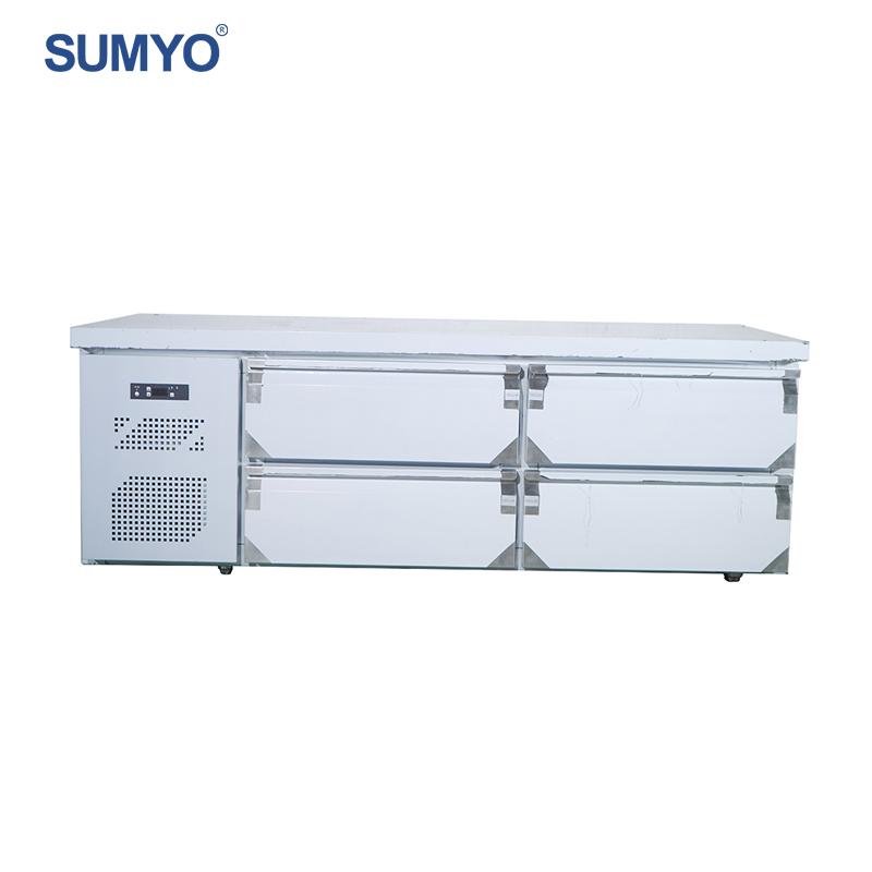 Kompakte Unter Zähler Kühlschrank Kommerziellen Unterbau Kühlschrank  Schubladen