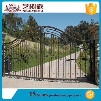 Cheap Simple Morden Main Gate Designsiron Fancy Gate Boundary Wall