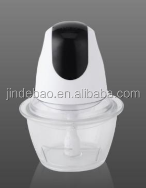 mini electric quick chopper vegetable chopper Glass bowl chopper