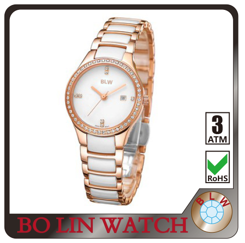 Watch Women Belle brand luxury Fashion Casual quartz ceramic watches Lady women wristwatches Girl Dress clock