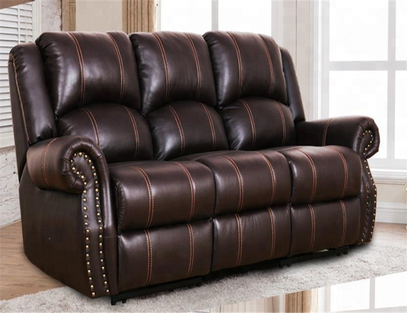 Clic Italy Top Grain Leather Sofa