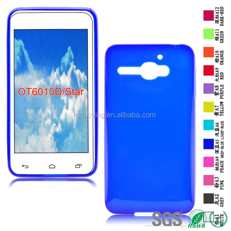 back case cover Mobile covers for cell phone Alcatel OT6010D