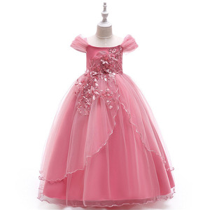 2019 New Arrival Bridesmaid Evening Party Children Clothes Frock Designs Little Girls Dresses