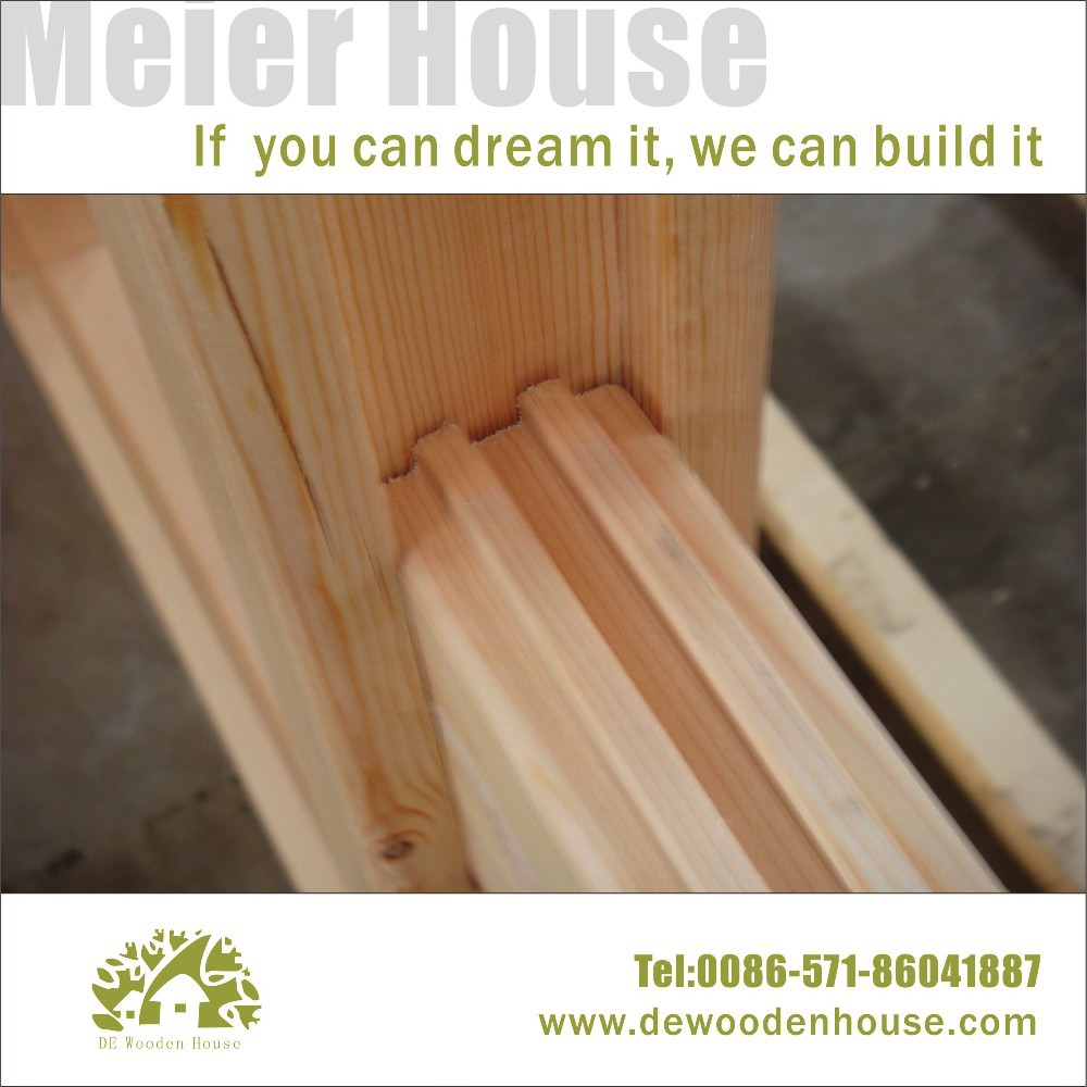 Moderne prefab houten huis met muziek studio en dubbele dy e 320 ...