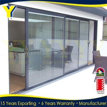 Sliding Glass Doors With Built In Blinds Aluminum Bifold Door