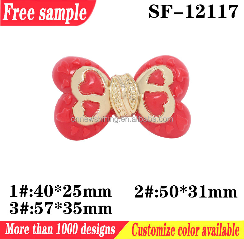 Butterfly style ladies footwear plastic flower