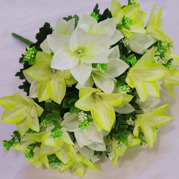 High Quality Wholesale Artificial Plastic Flowers Homegarden