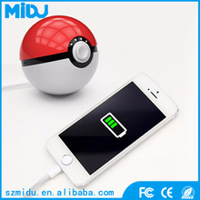 MIDU M-PB02 Pokeball External Battery 12000mAh USB Pokemon Go LED Power Bank