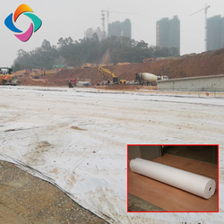 PP or polyester non-woven geotextiles price for road covering / swimming pool geotextiles