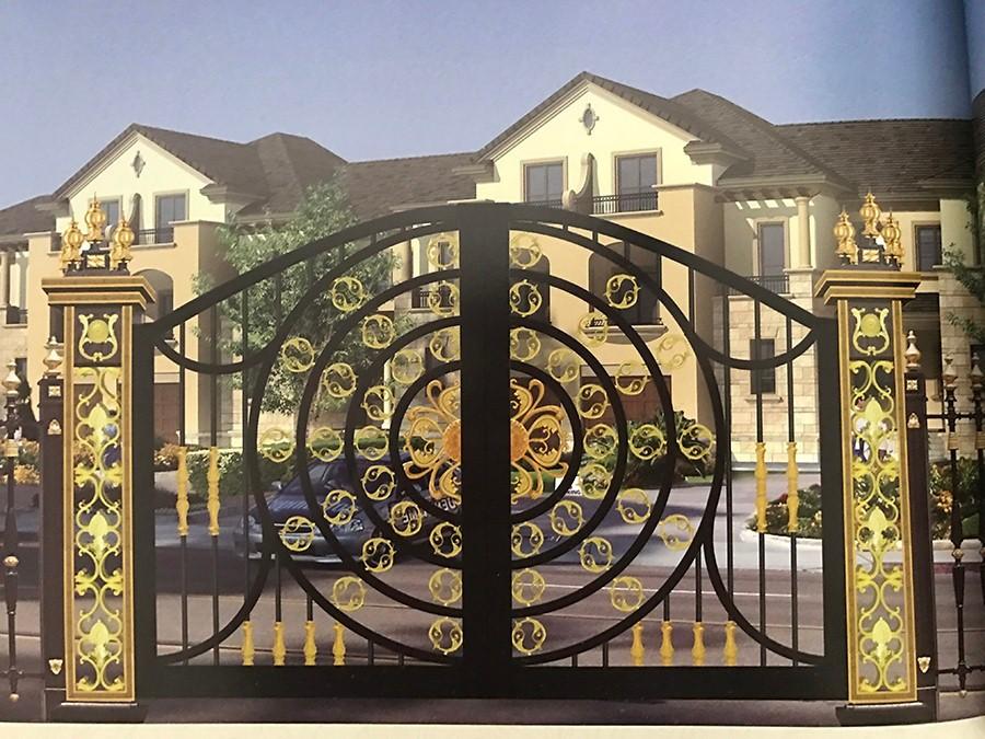 Shanghai Bodun Fancy Gates Designs Oydm 21 Buy Fancy