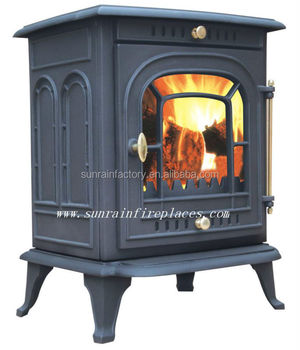 Cast Iron Wood Burning Stove Multi Fuel Ja008