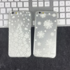 "Christmas Snowflake Fawns TPU case For Apple iPhone5 6Plus/ 6s 4.7"" 5.5 inch Slim transparent Case"