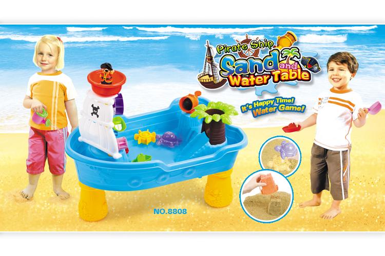 Zand Water Tafel : Zomer speelgoed voor kinderen corsair boot zand water tool sets