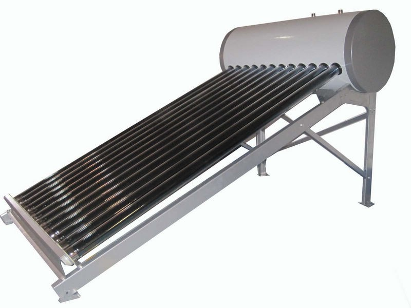 Portable Solar Water Heater : Rooftop solar water heater system portable boiler