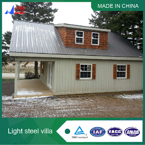 prefab houses Villas china with More Than 70 Years Lifetimes