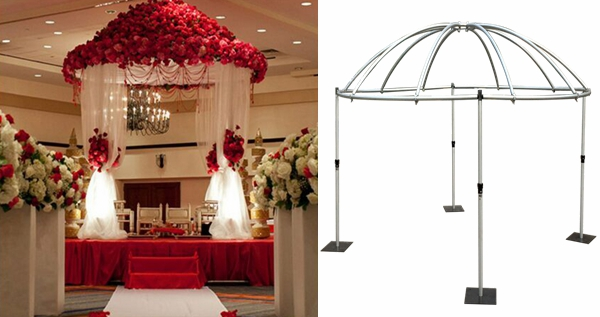 Outdoor low cost wedding tents Aluminum frame mobile event stage for sale