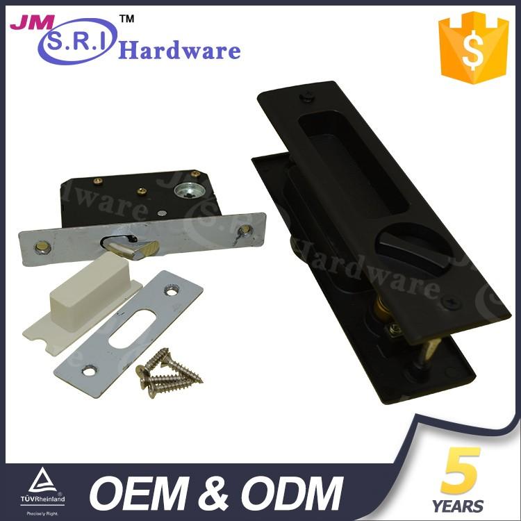 China Supplier Rectangle Zinc Alloy Hidden Glass Door Lock,Sliding ...